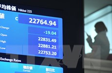 Chứng khoán châu Á tăng điểm nhờ xu hướng đi lên của thị trường Mỹ