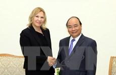 Thủ tướng tiếp Phó Chủ tịch Tổ chức Tài chính Quốc tế IFC