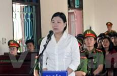 Tuyên phạt Trần Thị Xuân 9 năm tù về tội hoạt động lật đổ chính quyền