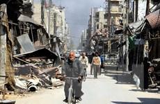 Hàng nghìn người dân Iraq xuống đường tuần hành ủng hộ Syria