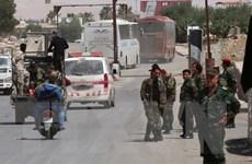 Quân đội Syria tấn công các nhóm khủng bố ở phía Nam Damascus