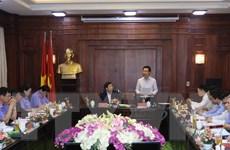 Đoàn của Bộ Chính trị làm việc với Ban cán sự đảng VKSND tối cao