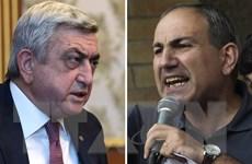 Armenia bắt giữ thủ lĩnh phe đối lập tham gia biểu tình