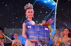 Thí sinh Tiền Giang đăng quang Hoa hậu biển Việt Nam toàn cầu