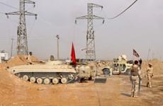 Quân đội Iraq bắn phá các vị trí của IS bên trong lãnh thổ Syria