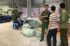 Hà Nội: Bắt đối tượng sản xuất bỉm giả mang nhãn hiệu Bobby