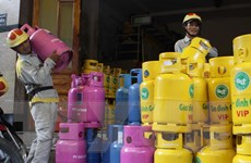Giá gas các tỉnh phía Nam tăng 833 đồng/kg so với tháng trước