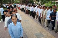 Ủy ban bầu cử Campuchia bắt đầu tuyên truyền về cuộc tổng tuyển cử