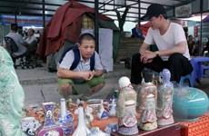 [Photo] Độc đáo chợ đồ cũ Vạn Phúc, nơi mọi thứ đều có thể tìm thấy