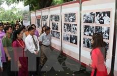 [Photo] Triển lãm 60 năm Nhà sàn Bác Hồ trong Khu Phủ Chủ tịch