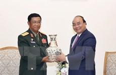 Thủ tướng Nguyễn Xuân Phúc tiếp Tổng Tham mưu trưởng QĐND Lào