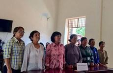 Chặn xe tải chở cát tại Tây Ninh, 7 phụ nữ phải ra hầu tòa