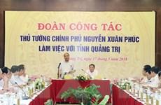 Thủ tướng đề nghị Quảng Trị chú trọng hơn đến công nghiệp, dịch vụ