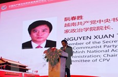 Đoàn đại biểu Đảng Cộng sản Việt Nam làm việc tại tỉnh Quảng Đông