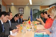 Việt Nam ưu tiên hợp tác về kinh tế với Bỉ và Liên minh châu Âu