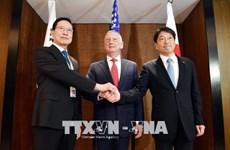 Hàn Quốc-Mỹ-Nhật Bản kêu gọi Triều Tiên hành động cụ thể
