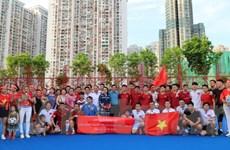 Người Việt tại Hong Kong và Macau tổ chức giao hữu bóng đá