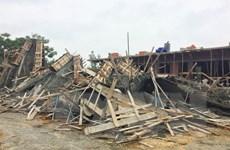 Vỡ bể chứa tại công trường thi công ở Hạ Long, hai người tử vong