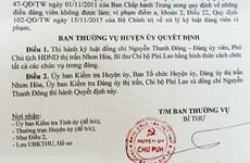 Gia Lai: Cách chức Phó Chủ tịch HĐND thị trấn sử dụng bằng giả
