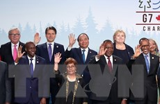Phát biểu của Thủ tướng Nguyễn Xuân Phúc tại Hội nghị G7 mở rộng
