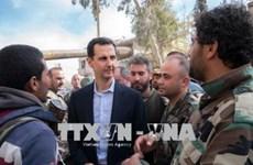 Tổng thống Syria khẳng định theo đuổi giải pháp chính trị