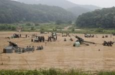 Hàn Quốc ngừng xây dựng các căn cứ quân sự ở biên giới với Triều Tiên