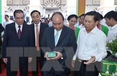 Hình ảnh Thủ tướng dự Hội nghị xúc tiến đầu tư tỉnh Thái Nguyên