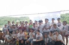 Sôi nổi giải bóng đá sinh viên Việt Nam trên đất Hàn Quốc