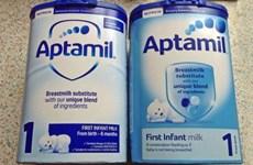 Danone điều tra chất lượng sản phẩm sữa công thức mới Aptamil