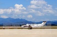 Chuyến bay đầu tiên hạ cánh tại Cảng hàng không quốc tế Vân Đồn