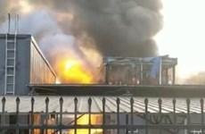Trung Quốc bắt giữ các nghi can vụ nổ nhà máy hóa chất