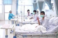 Thành viên đội bóng thiếu niên Thái Lan sẽ được xuất viện vào tuần tới