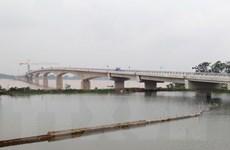 Ngày 31/7 sẽ thông xe cầu Việt Trì-Ba Vì bắc qua sông Hồng