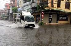 Từ chiều 18/7, bão số 3 gây mưa rất to trở lại Bắc Bộ và Trung Bộ