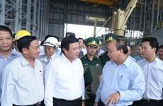 Thủ tướng lần thứ 2 thị sát việc bảo vệ môi trường tại Formosa Hà Tĩnh
