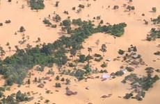 Chính phủ Lào thông báo huyện Sanamxay là vùng thiên tai khẩn cấp