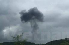 Vụ máy bay quân sự rơi tại Nghĩa Đàn: Hai phi công hy sinh