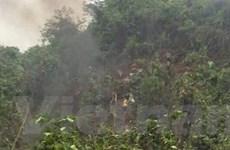 Nghệ An: Một máy bay quân sự phát nổ, rơi ở huyện Nghĩa Đàn