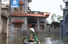 Nhiều hệ thống hạ tầng làm giảm khả năng thoát lũ của các sông