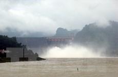 Thủy điện Sơn La mở cửa xả đáy lần thứ hai trong năm 2018