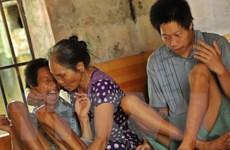 Nỗ lực cải thiện đời sống vật chất, tinh thần cho nạn nhân da cam