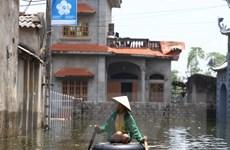Tình trạng ngập lụt tại Chương Mỹ có khả năng sẽ tái diễn