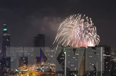 TP.HCM tổ chức bắn pháo hoa tại hai điểm nhân dịp Quốc khánh