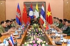 Bộ Quốc phòng tiếp các trưởng đoàn dự giao lưu biên cương