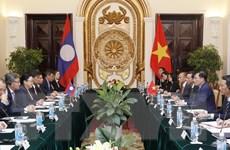 Tham khảo Chính trị lần thứ ba giữa hai Bộ Ngoại giao Việt Nam-Lào