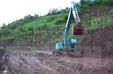 Điện Biên: Vẫn chưa thể thông tuyến Quốc lộ 4H sau sự cố sạt lở