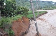 Mưa lũ tiếp tục gây thiệt hại nặng tại các tỉnh miền núi phía Bắc