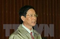 Hoàn tất cáo trạng truy tố đối với nguyên Trung tướng Phan Văn Vĩnh