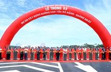 Thông xe Dự án xây dựng đường cao tốc Đà Nẵng-Quảng Ngãi