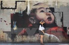 Ngắm nhìn những bức tranh tường khổng lồ tuyệt đẹp tại Huế